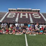 Boardman High School Football Hosts Youth Camp And Over 70 Boys Attend