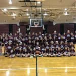 Varsity Girls Basketball Team And Coaching Staff Hosts Over 60 Girls At Spartan Summer Camp