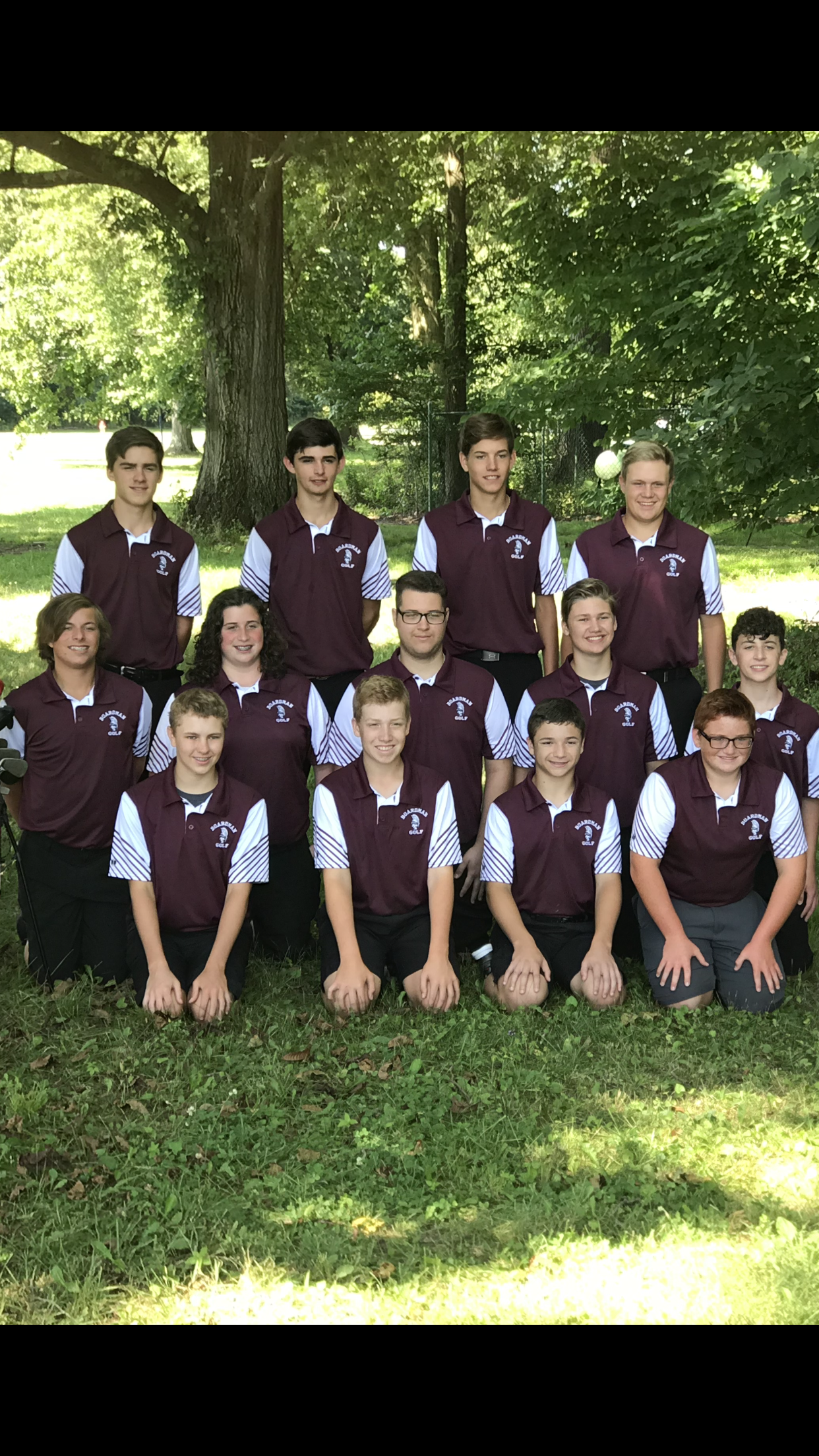 The Boardman  Boys Golf Team extends its winning streak to 5-0
