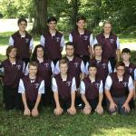The Spartan's Boy Golf Team defeated Cardinal Mooney 157 -189
