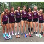 Girls Varsity Cross Country Team Places 1st At Suburban League Meet