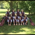 Boys Golf Team post 9th win
