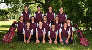 2019-20 Boys Varsity Golf Team