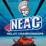 Boys Varsity Swimming finishes 1st place at the NEAC Relays