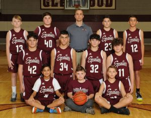 Boys 8th Grade Maroon Basketball