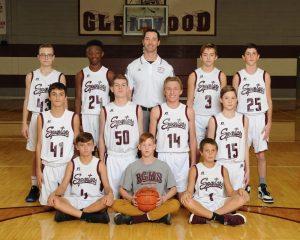 Boys 8th Grade White Basketball