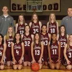 Girls 8th Grade White Basketball
