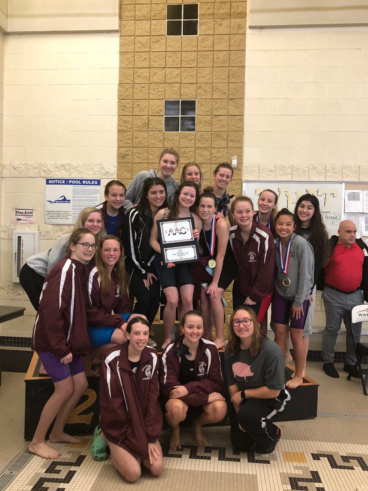 Girls Team Wins AAC Conference Title for the 6th Straight Year
