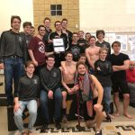Boardman High School Boys Varsity Swimming finishes 1st place at AAC Leagues Championship