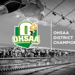 Girls Varsity Swimming Lights Up the OHSAA Division I District Meet