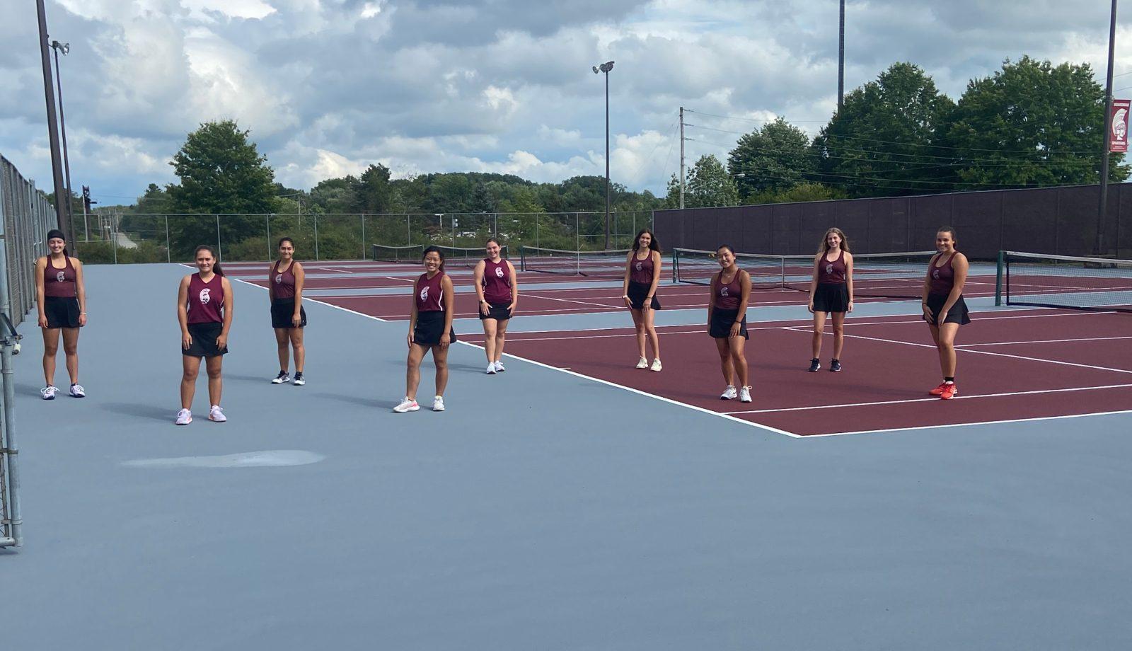Refurbished Tennis Courts