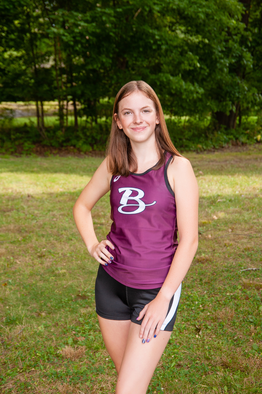 Julia Gorby Running at Norwich University