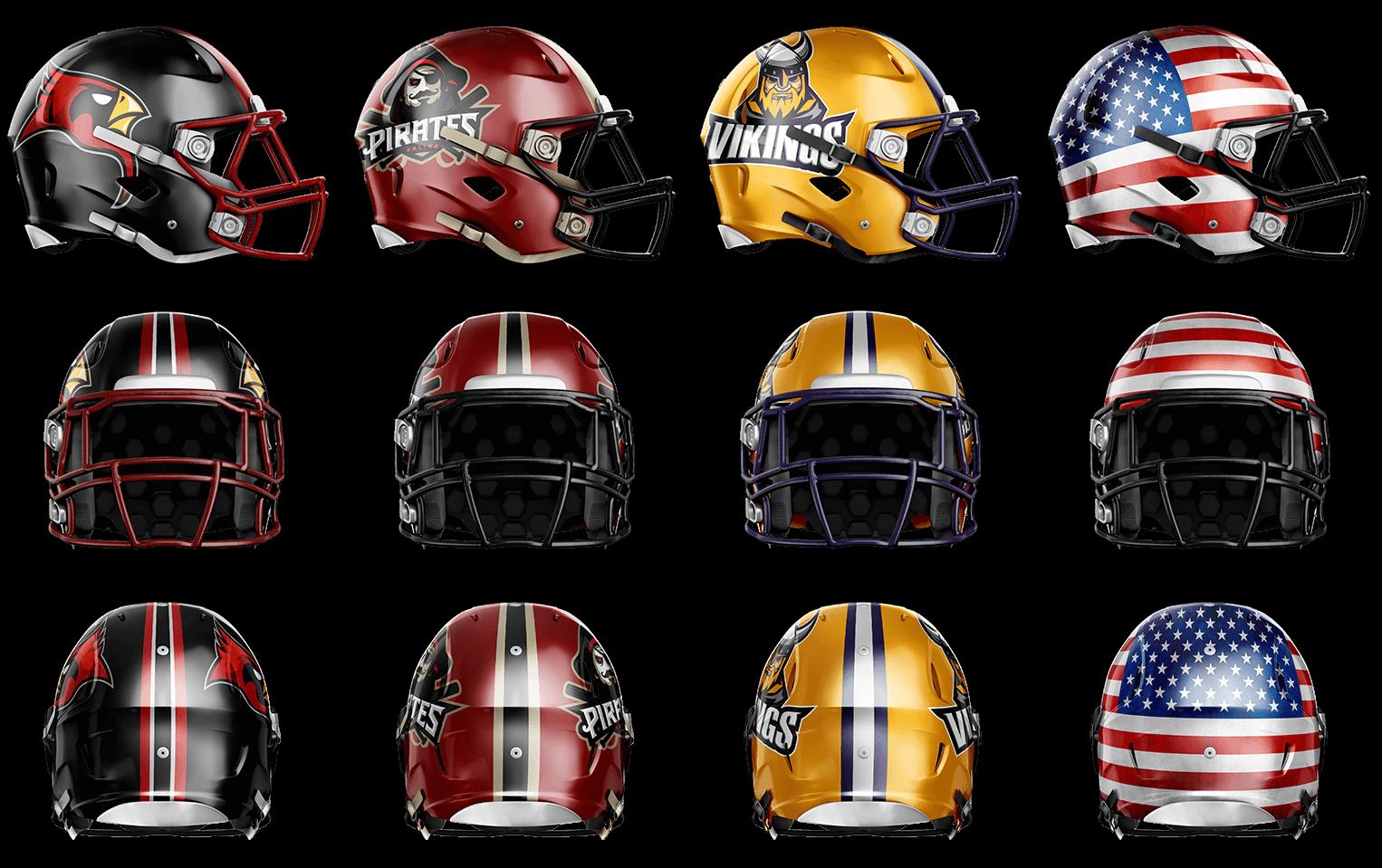 TouchDown Football Uniform Template – Sports Templates