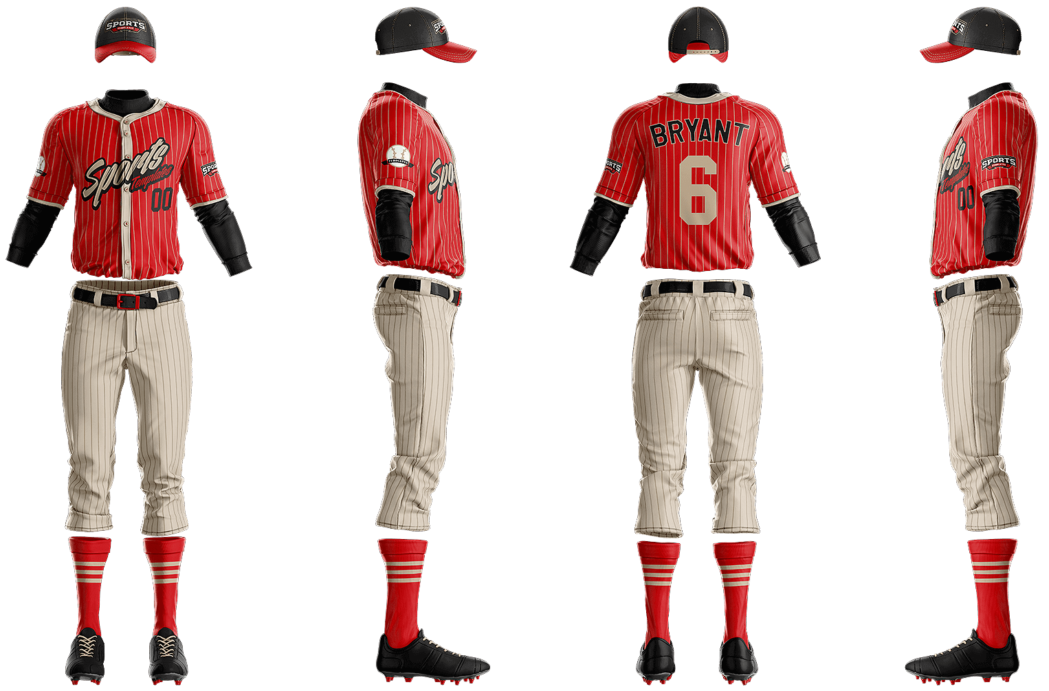 e45a93ed1 Grand Slam Baseball Uniform Template – Sports Templates