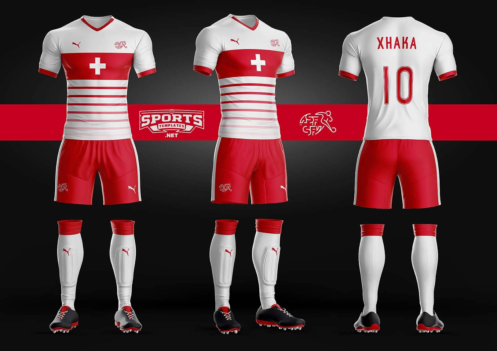 Goal Soccer kit Template – Sports Templates