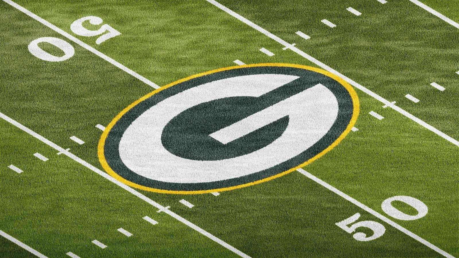 Football Field Photoshop Logo Mockup Sports Templates