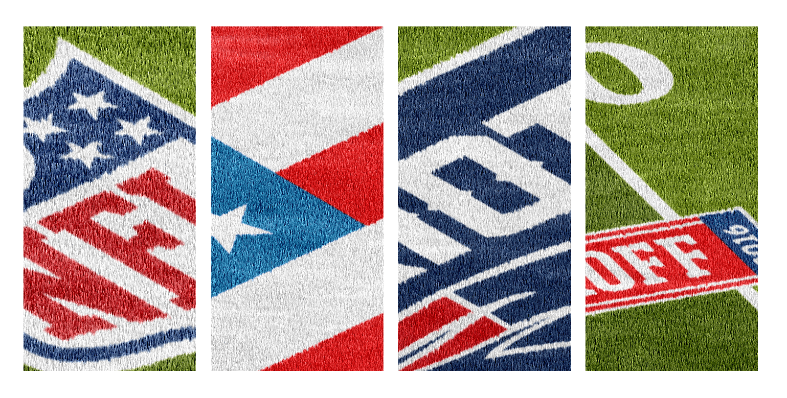 Photoshop football field Template