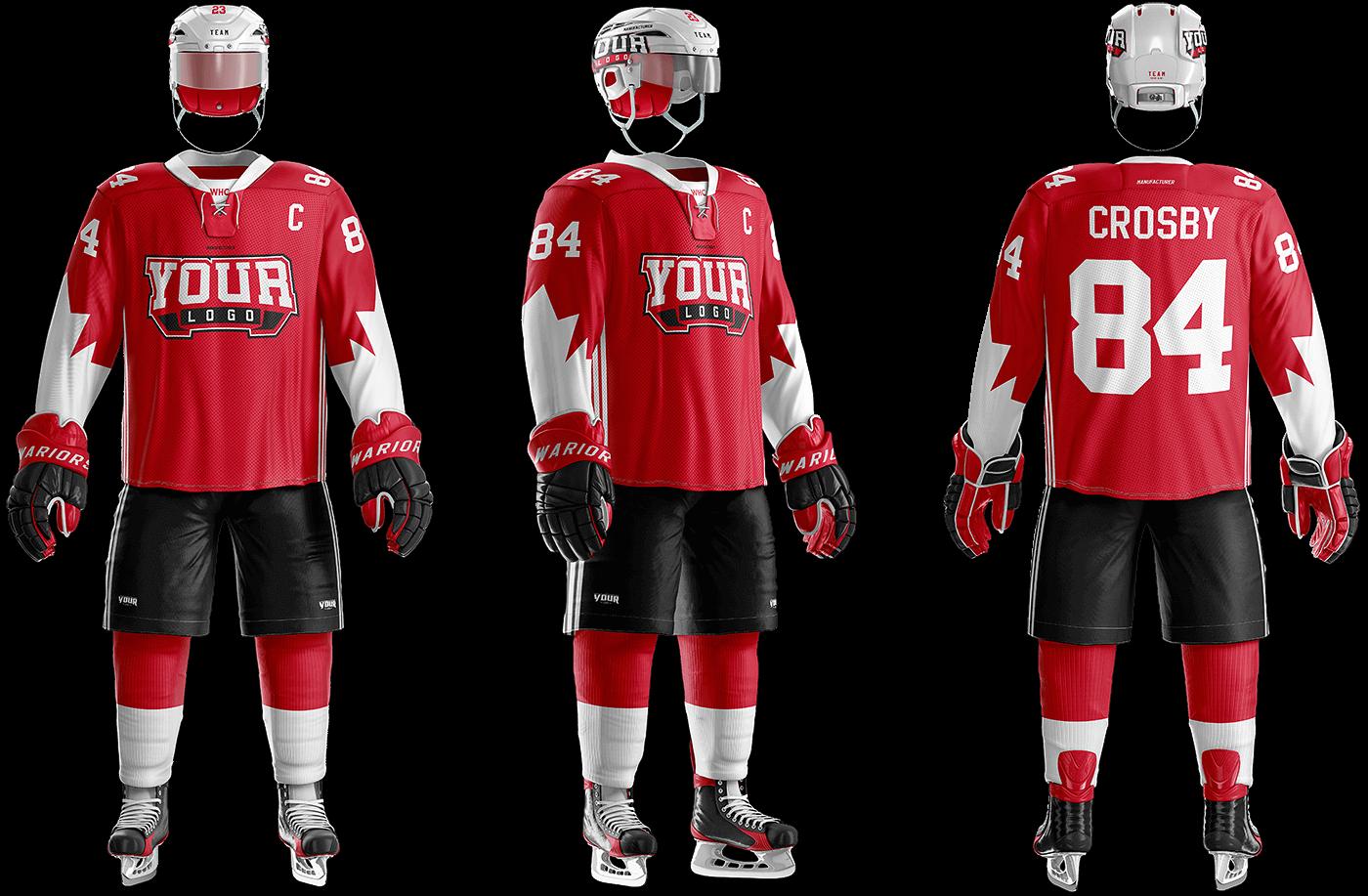 b01c06da2 Ice Hockey Uniform Template – Sports Templates