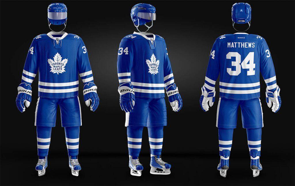 Ice Hockey Uniform Template