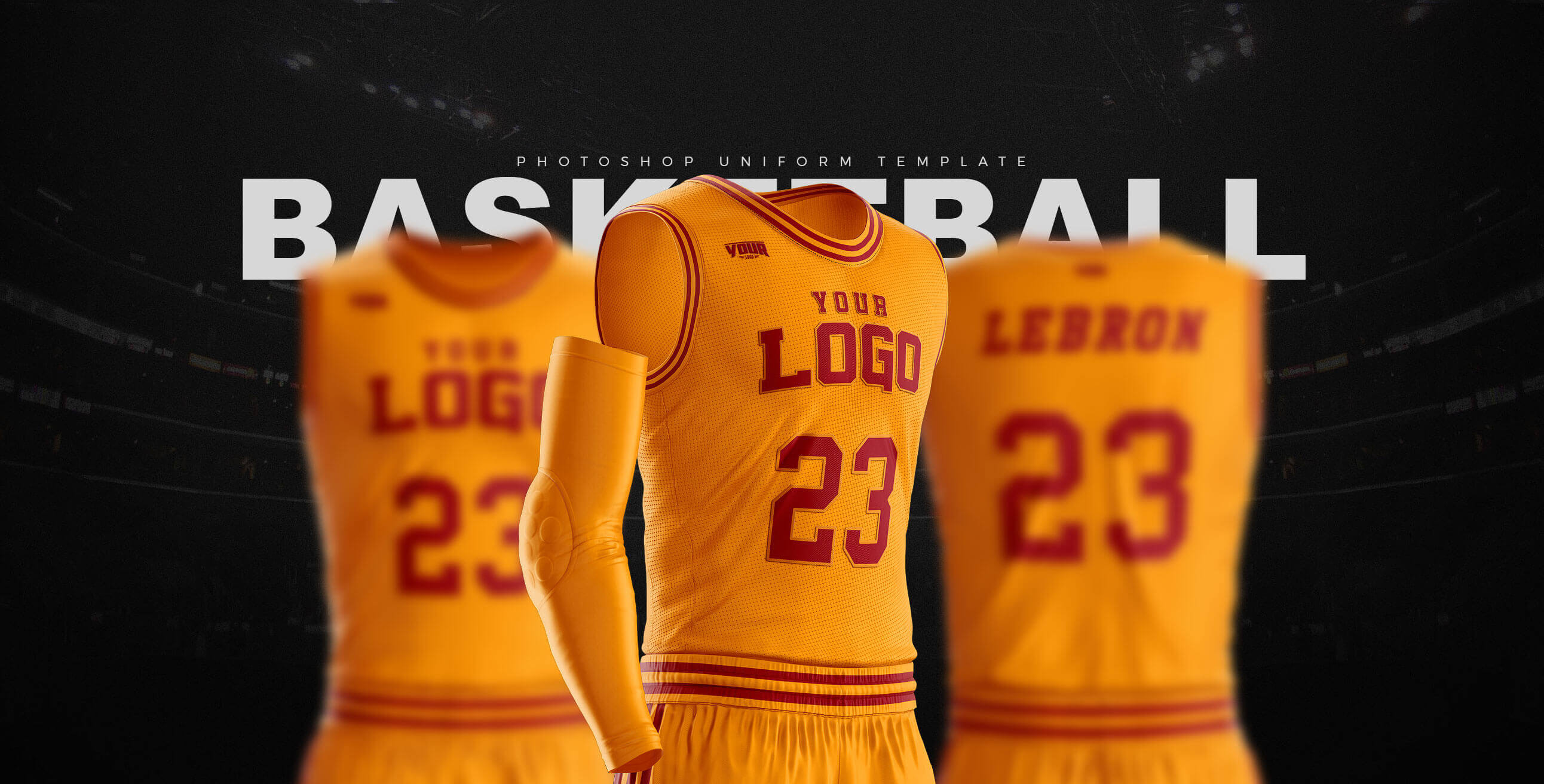 Slam Dunk Basketball Uniform Template Sports Templates