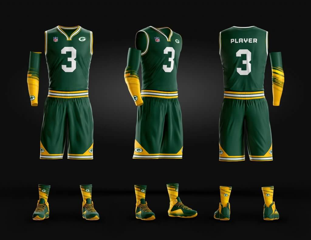 green-bay-packers-basketball-template