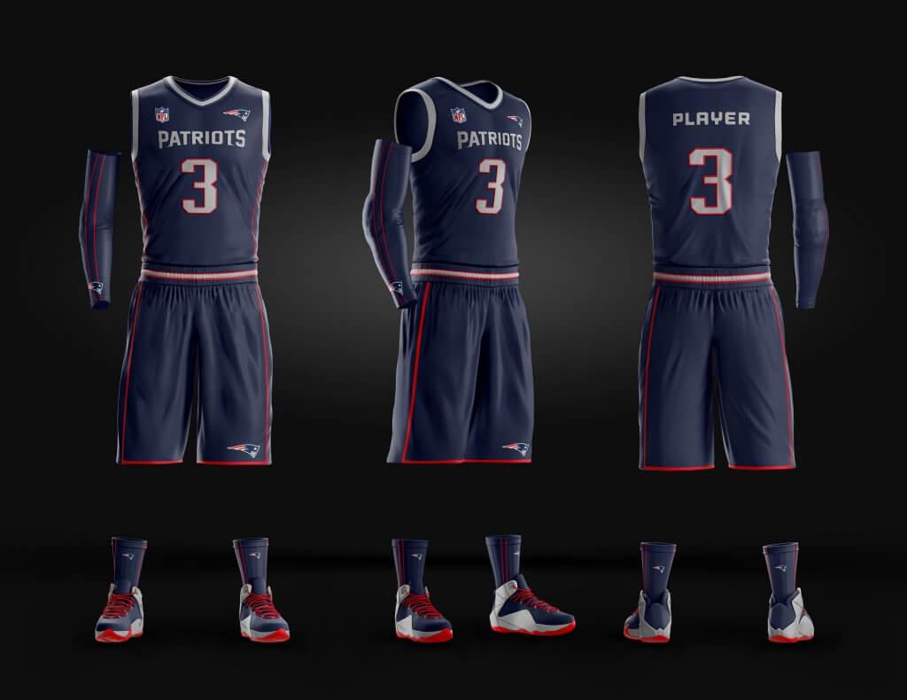 new-england-patriots-basketball-template