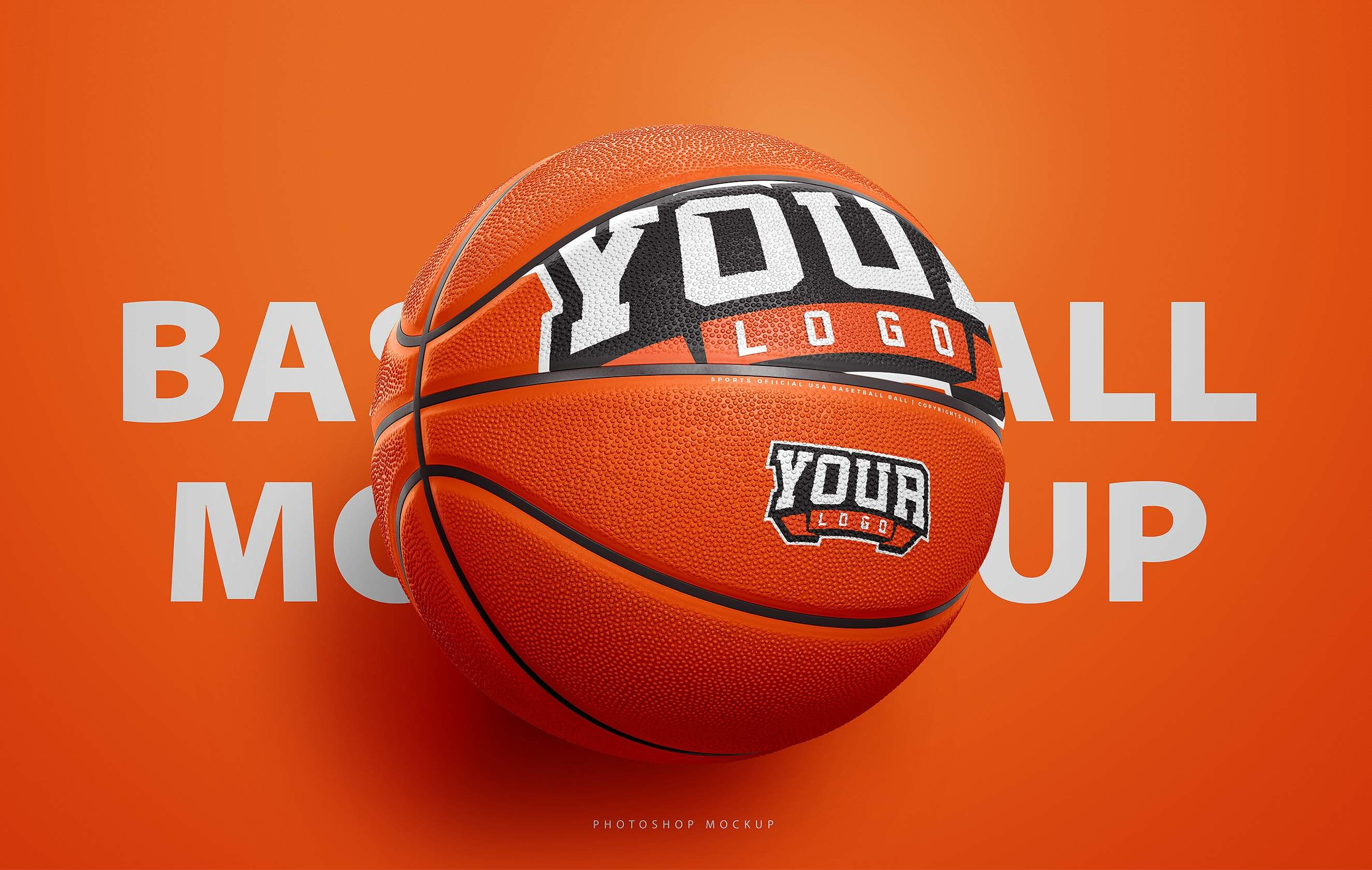 Basketball Ball Photoshop Template Sports Templates