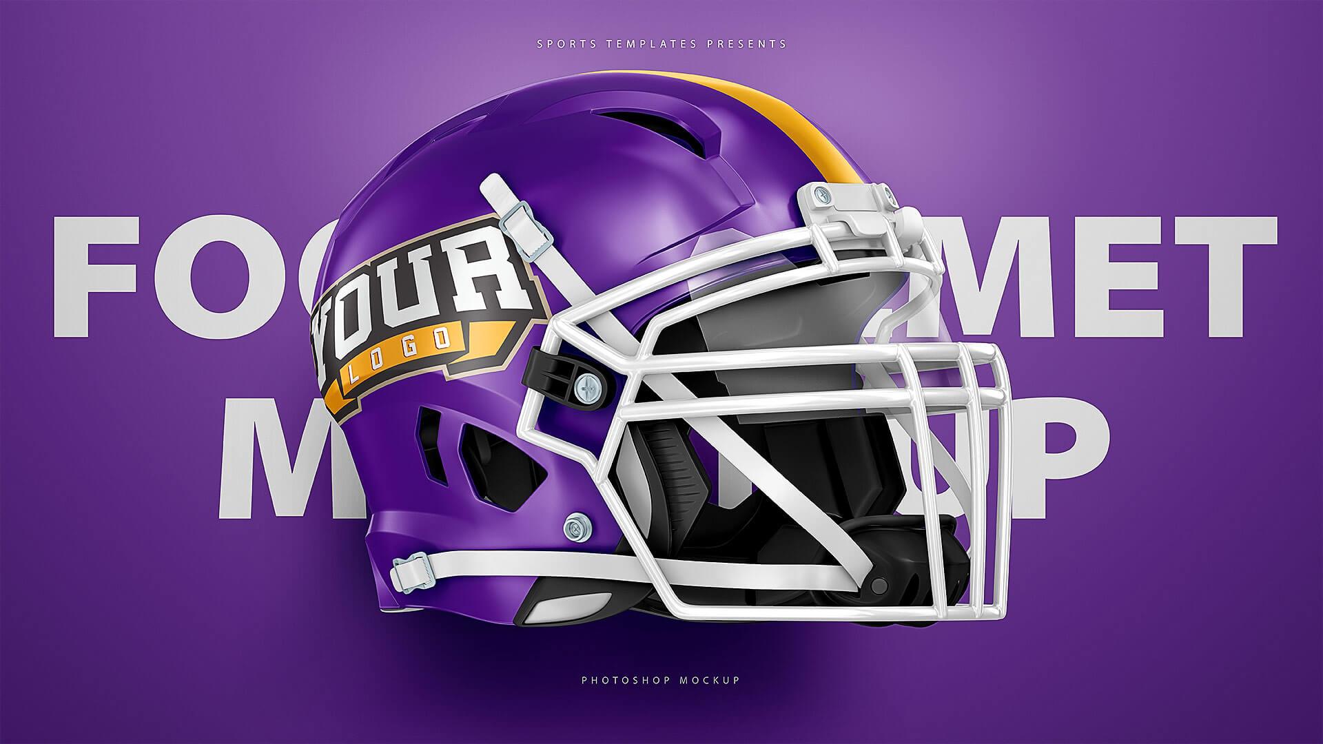 schutt vengeance z10 helmet 3 views mockup sports templates
