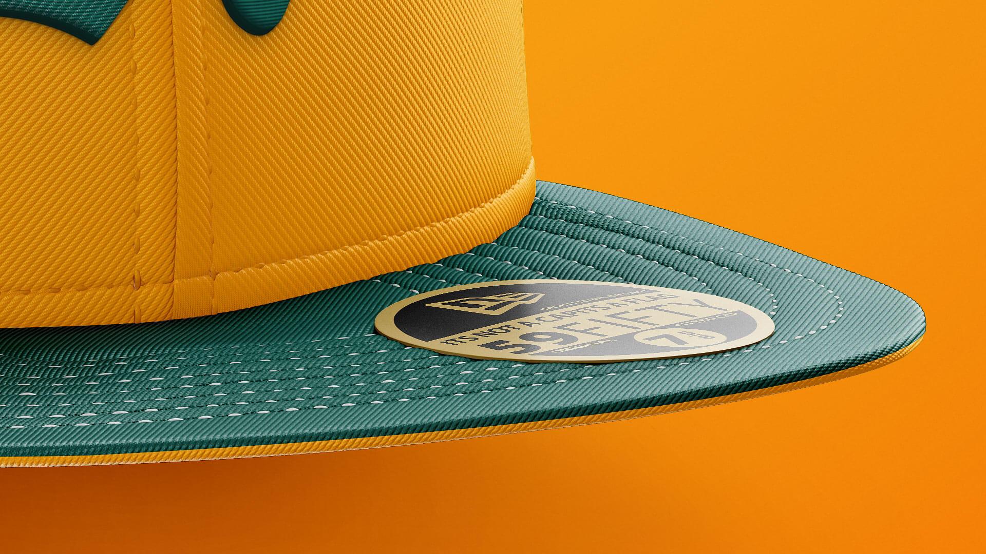 fitted  u0026 snapback hat mockup  u2013 sports templates