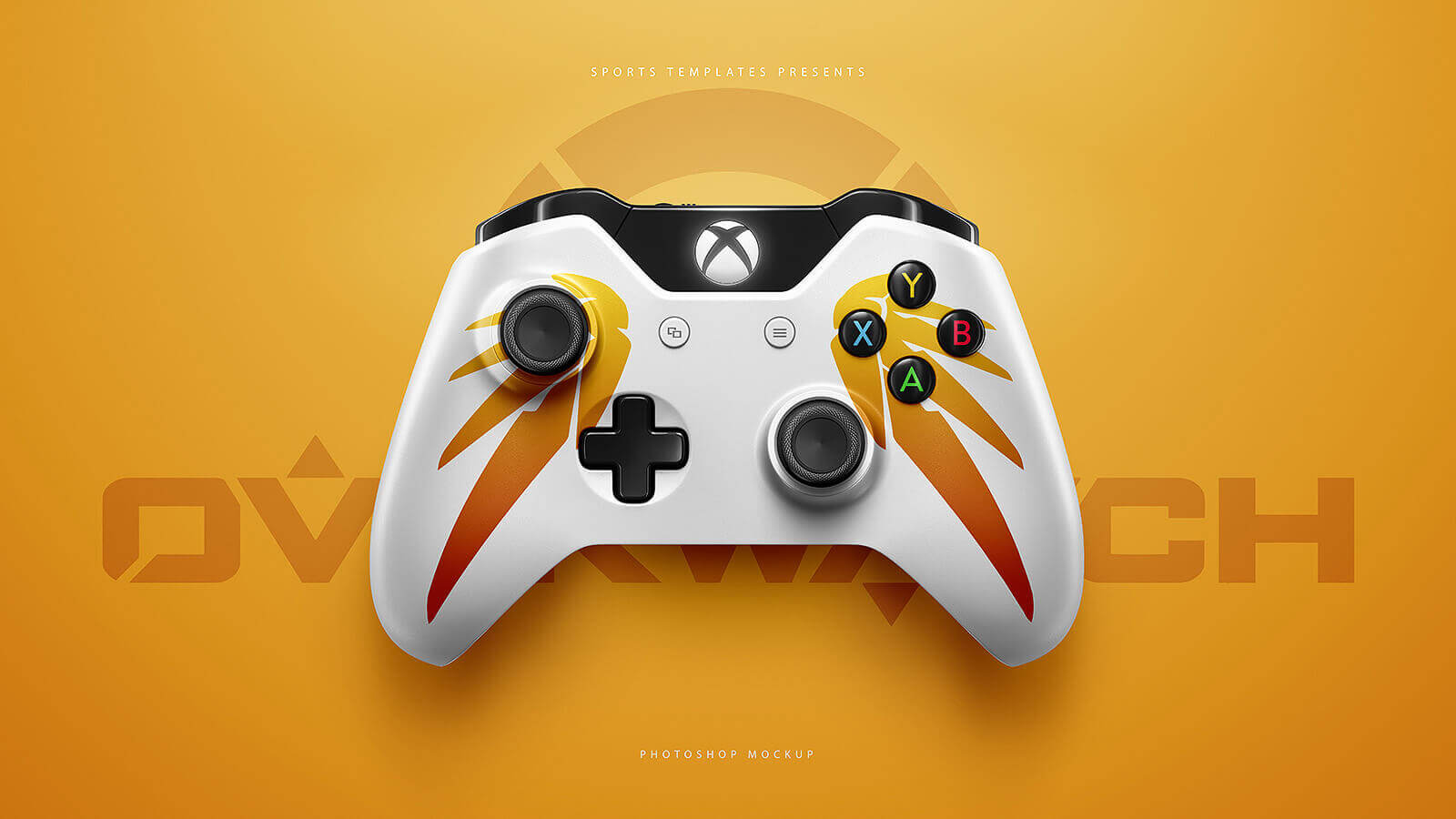 ESports PS4, Xbox Controllers mockup Templates