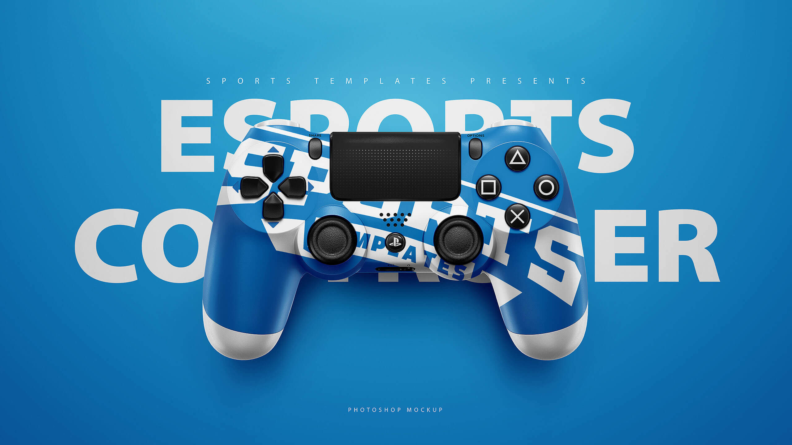 esports ps4 controllers mockup templates sports templates