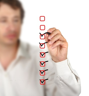 Underwriting checklist