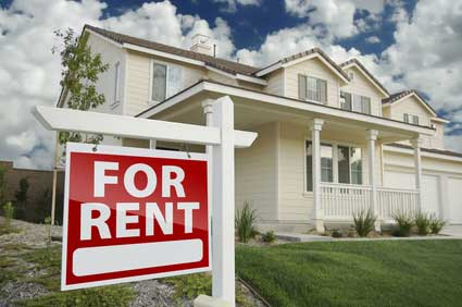 image of a landlord renting their home
