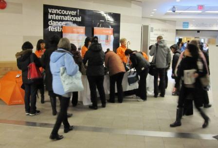 Vancouver Centre umbrella giveaway