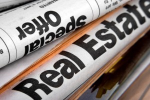 image of rental property related newspapers