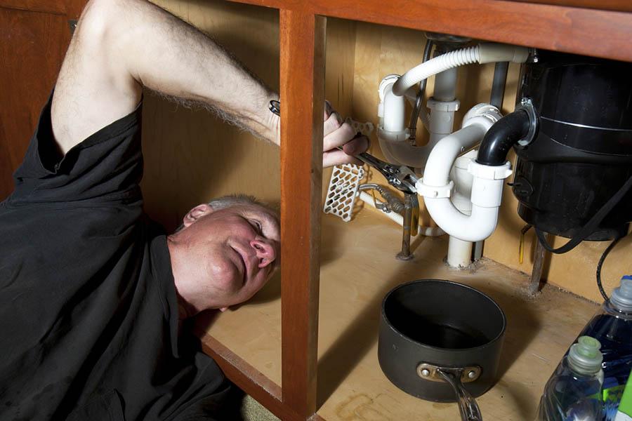 unclogging-a-drain