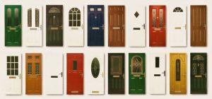 image of different door types
