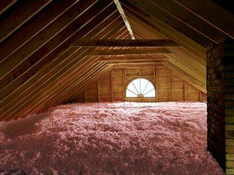 attic water damage