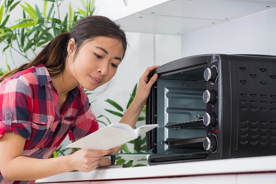 reading the oven manual