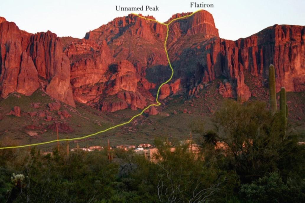 Siphon Draw to Flatiron Summit Hike Trail
