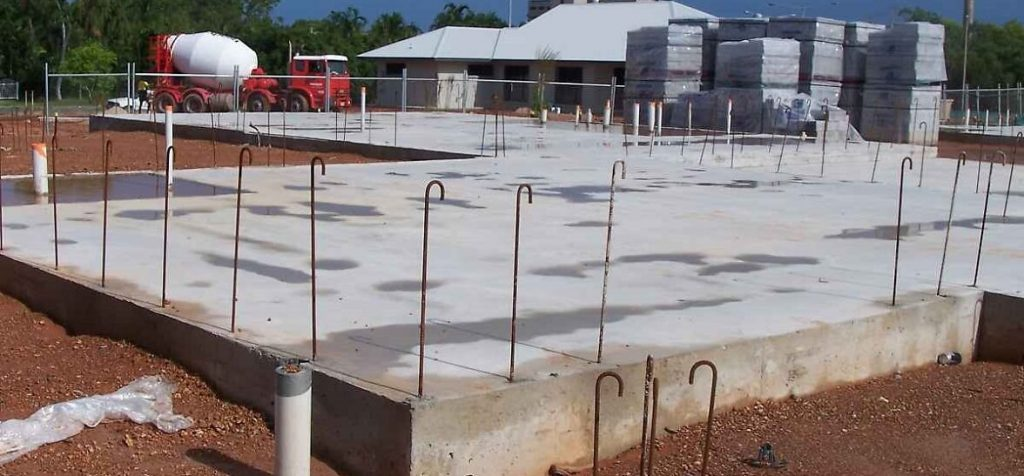 Slab Foundation Type