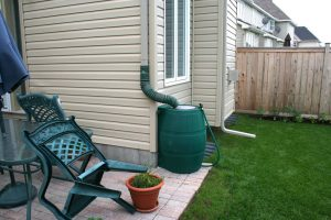 Rain barrels and water conservation