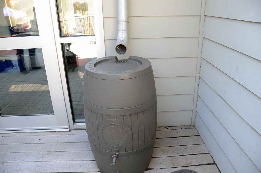 What a rain barrel is and what it looks like