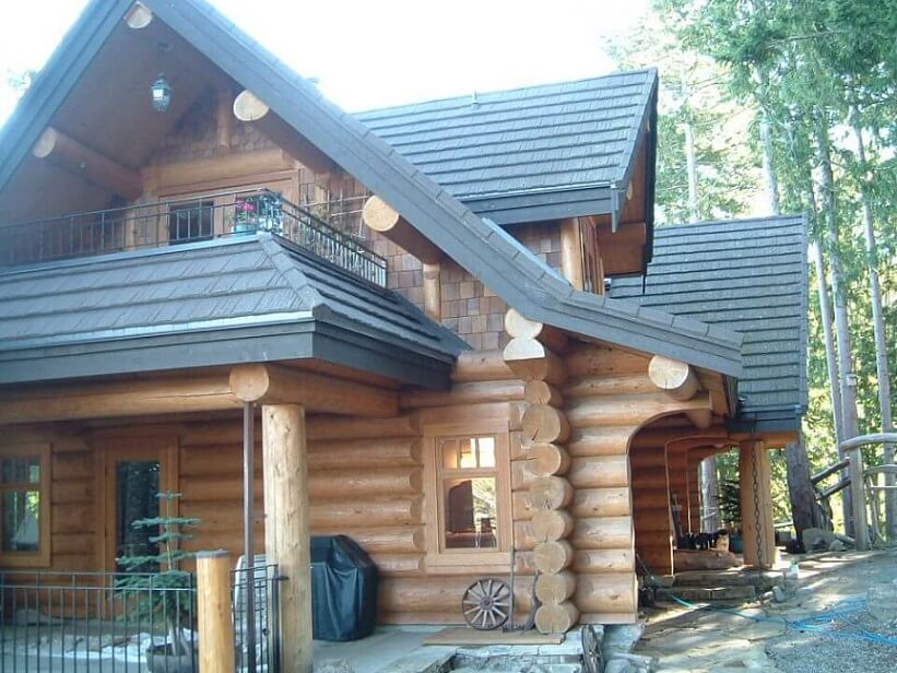 Log homes- full scribe