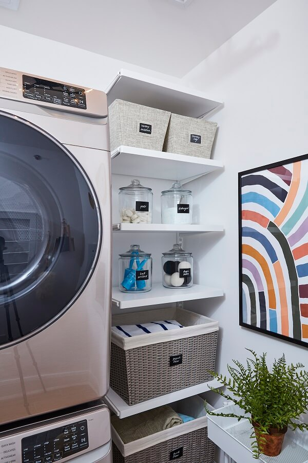 Misc storage for laundry