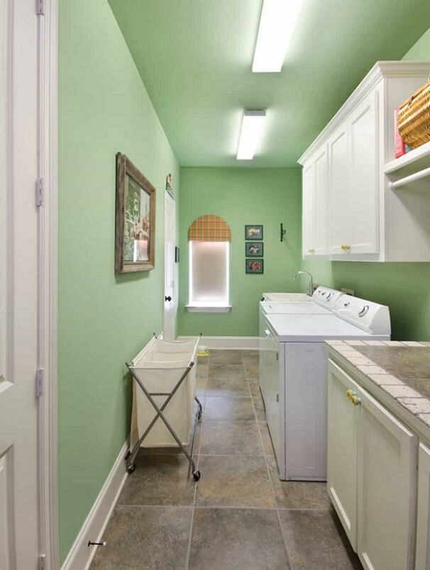 Green cleaning room