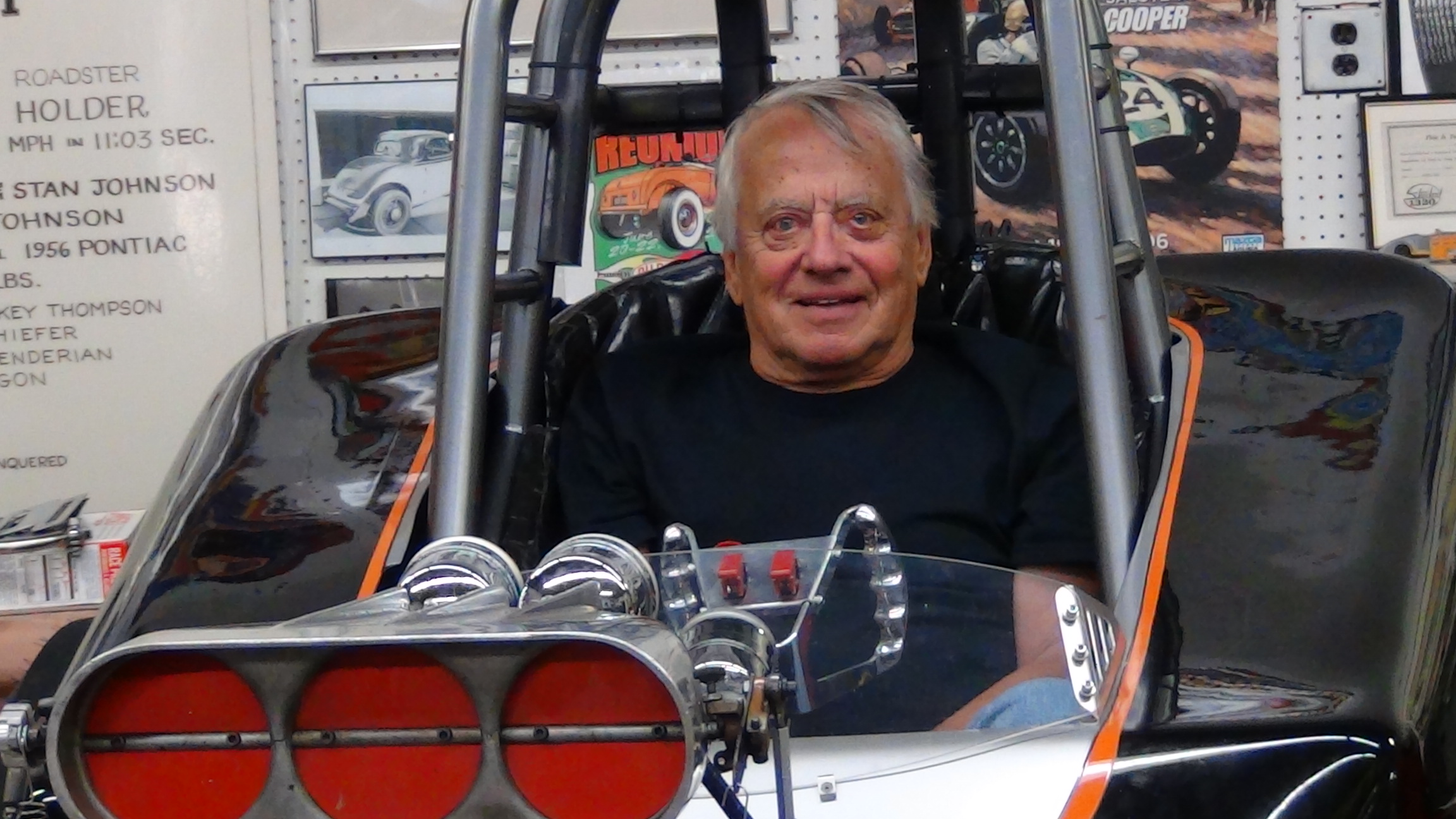 Stan Johnson design genius and the man behind the Silver Bullet