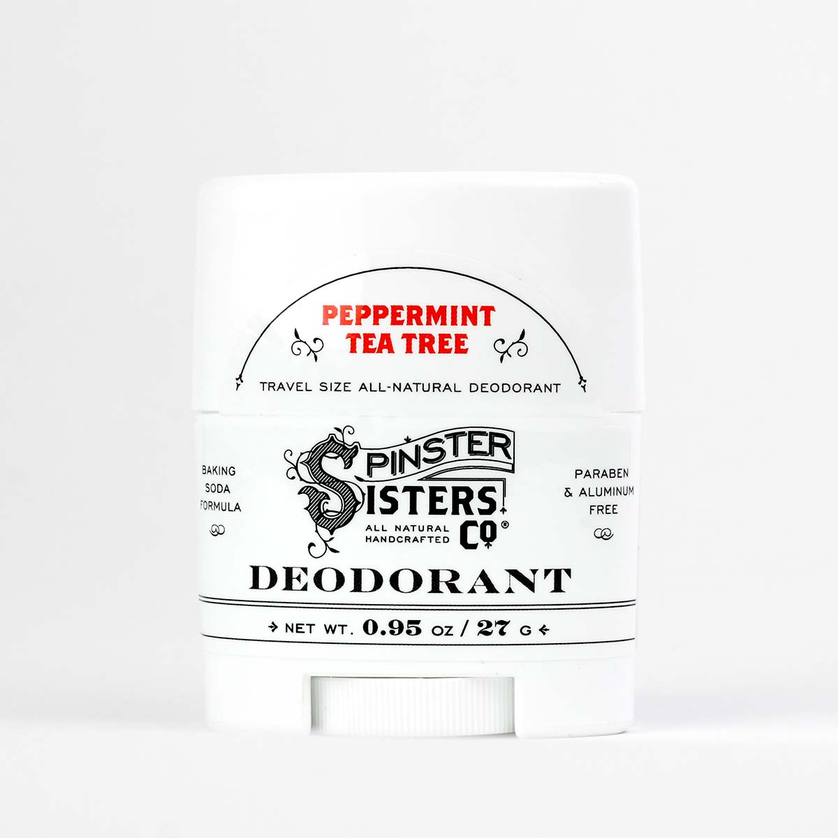 Deodorant Travel Size Apothecary Spinster Sisters Co
