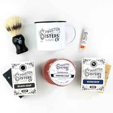 Men's Shaving Soap Gift Set