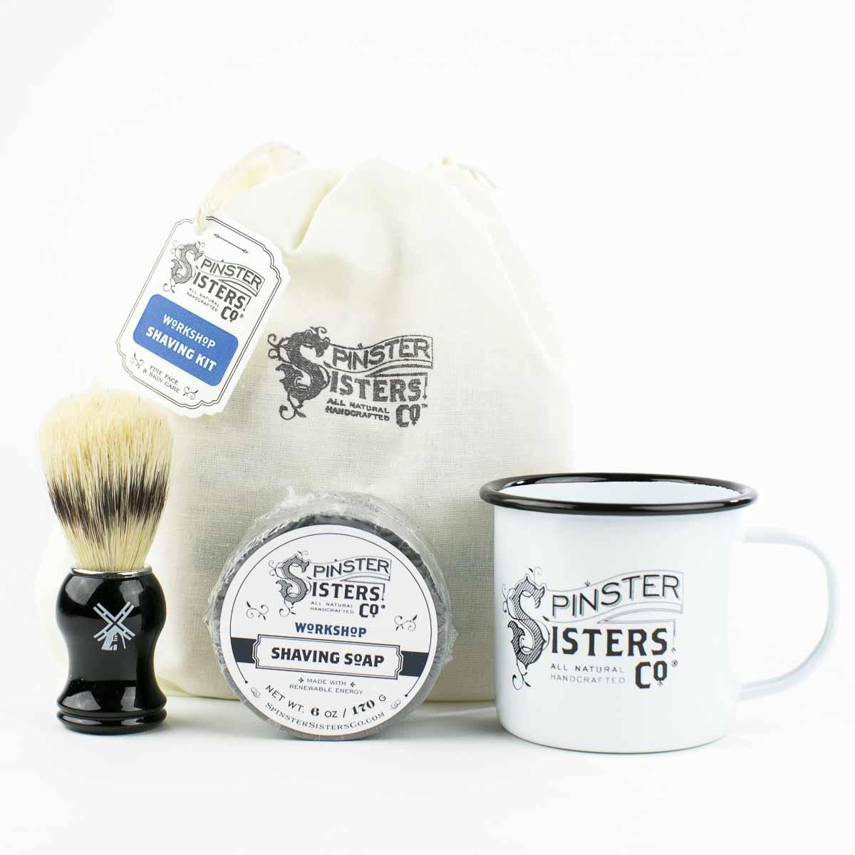 Shaving Kit Shaving Spinster Sisters Co
